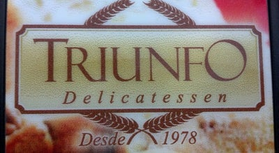 Photo of Bakery Triunfo Delicatessen at Pç. Chora Menino, 107, Recife 50070-210, Brazil