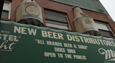 Photo of Liquor Store New Beer Distributors Inc. at 167 Chrystie St, New York, NY 10002, United States