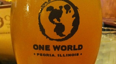 Photo of Cafe One World Eats & Drinks at 1245 W Main St, Peoria, IL 61606, United States