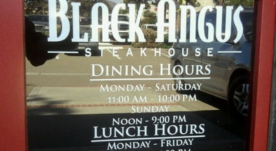 Photo of Steakhouse Black Angus Steakhouse at 1000 Graves Ave., El Cajon, CA 92021, United States