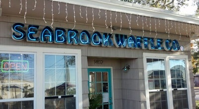 Photo of Cafe Seabrook Waffle Co. at 1402 5th St, Seabrook, TX 77586, United States
