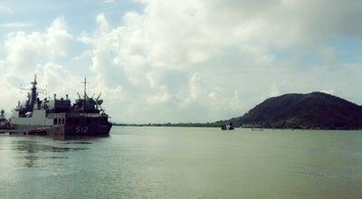 Photo of Lake ทะเลสาบสงขลา at Thailand