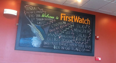 Photo of Breakfast Spot First Watch at 4045 Tyrone Blvd N #204, Saint Petersburg, FL 33709, United States