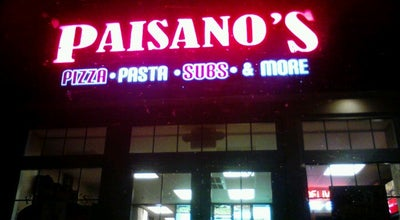 Photo of Pizza Place Paisano's Pizza at 1141 Elden St, Herndon, VA 20170, United States