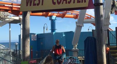 Photo of Theme Park West Coaster at Santa Monica Pier at Santa Monica, CA 90401, United States