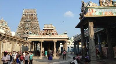 Photo of Hindu Temple Kapaleeswarar Temple at Sanadhi St, Mylapore, Chennai 600004, India