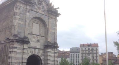 Photo of Historic Site Porte de France at Place Aristide Briand, Grenoble 38000, France