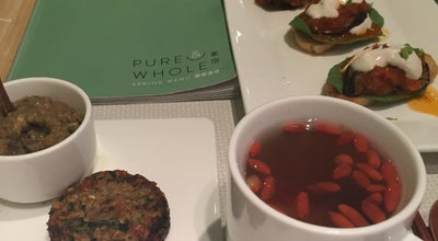 Photo of Vegetarian / Vegan Restaurant Pure & Whole at #104 Retail Plaza / Shanghai Centre / 1376 Nanjing Road West, Shanghai 200040, China