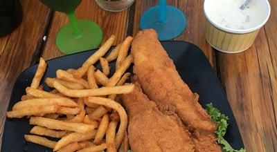 Photo of Seafood Restaurant Jim's Dock at 1175 Succotash Rd, Wakefield, RI 02879, United States