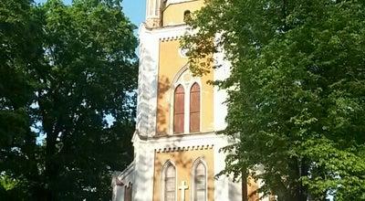 Photo of Church Jelgavas Sv. Jāņa Evaņģēliski luteriskā baznīca at Jāņa Iela 1, Jelgava LV-3001, Latvia