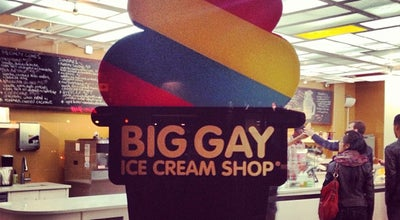 Photo of Ice Cream Shop Big Gay Ice Cream Shop at 61 Grove St, New York, NY 10014, United States