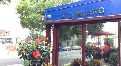 Photo of Italian Restaurant Cafe Milano at 3251 Prospect Street, Nw, Washington, DC 20007, United States