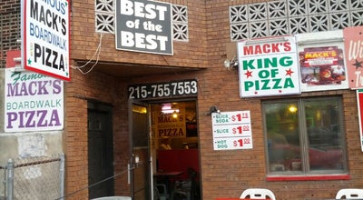 Photo of Pizza Place Mack's Pizza at 2700 S Hutchinson St, Philadelphia, PA 19148, United States