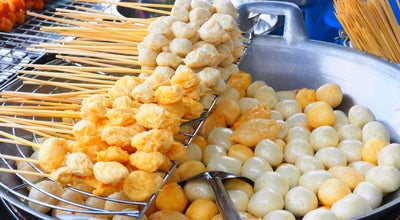 Photo of Food Truck ลูกชิ้นหน้าสถานี at Nai Muang, Thailand
