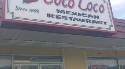 Photo of Mexican Restaurant Coco Loco at 1804 Welsh Ave, College Station, TX 77840, United States