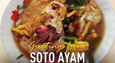 "Photo of Soup Place Soto Ayam ""Jalan Bank"" H. Loso at Jl. R.a. Wiriatmaja No. 15, Purwokerto, Indonesia"