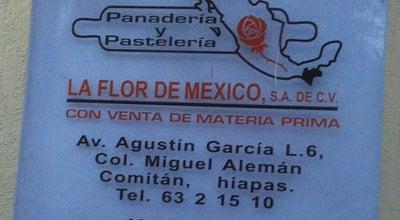 Photo of Bakery Panaderia La Flor De Mexico at Comitán de Domínguez, Mexico