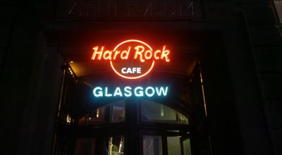 Photo of American Restaurant Hard Rock Cafe Glasgow at 179 Buchanan St, Glasgow G1 2JZ, United Kingdom