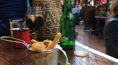 Photo of Spanish Restaurant La finca Sidreria - Agrobar at Gascona, 4, Oviedo 33001, Spain