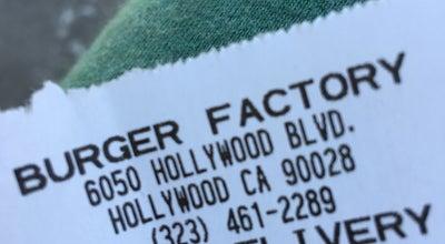 Photo of Burger Joint Burger Factory at 6050 Hollywood Blvd, Los Angeles, CA 90028, United States