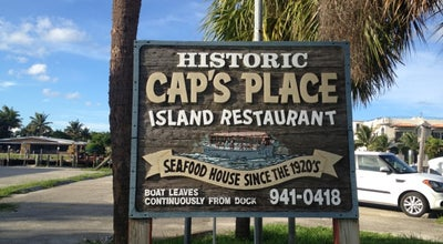 Photo of Seafood Restaurant Cap's Place Island Restaurant at 2765 Ne 28th Ct, Lighthouse Point, FL 33064, United States