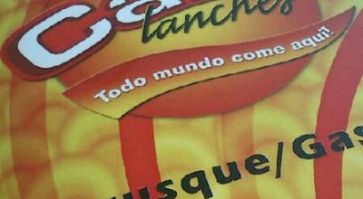Photo of Burger Joint Cako Lanches at Rua Moritz Germano Hoffmann, 100, Brusque 88350-180, Brazil