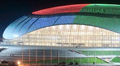 Photo of Hockey Arena Ледовый дворец «Большой» at Имеритинская Низменность, Сочи, Russia