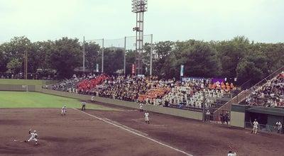 Photo of Baseball Field 朝霞中央公園野球場 at Japan