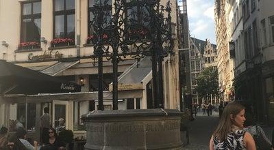 Photo of Plaza Handschoen Markt at Handschoen Markt, Antwerpen, Belgium