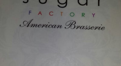 Photo of American Restaurant Sugar Factory American Brasserie at 46 Gansevoort St., New York, NY 10014, United States