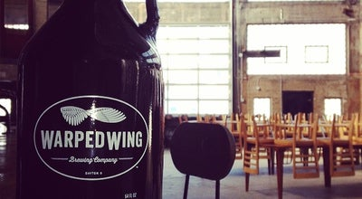 Photo of Brewery Warped Wing Brewing Co. at 26 Wyandot St, Dayton, OH 45402, United States