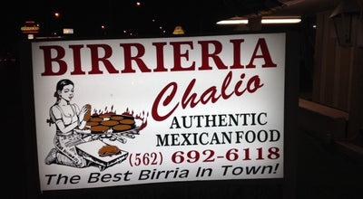 Photo of Mexican Restaurant Birrieria Chalio at 11300 Washington Blvd, Whittier, CA 90606, United States