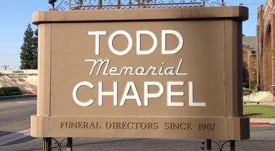 Photo of Church Todd Memorial Chapel at 570 N Garey Ave, Pomona, CA 91767, United States