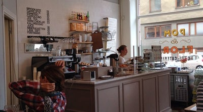 Photo of Cafe Pom & Flora at Bondegatan 64, Stockholm 116 33, Sweden