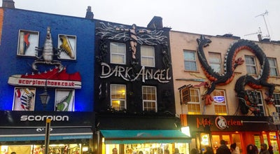Photo of Tattoo Parlor Dark Angel at Camden Market, Camden Town, United Kingdom