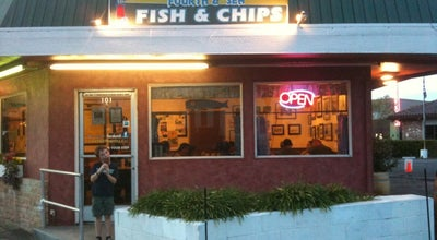 Photo of Fish and Chips Shop Fourth & Sea Fish & Chips at 101 4th St, Petaluma, CA 94952, United States