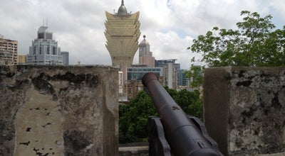 Photo of Historic Site Fortaleza do Monte 大炮台 at 澳門博物館前地, Macao