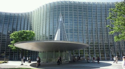 Photo of Art Museum 国立新美術館 (The National Art Center, Tokyo) at 六本木7-22-2, 港区 106-8558, Japan