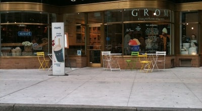Photo of Ice Cream Shop Grom at 1796 Broadway, New York, NY 10019, United States