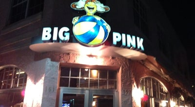 Photo of American Restaurant Big Pink at 157 Collins Ave, Miami Beach, FL 33139, United States