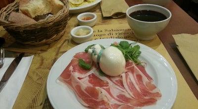 Photo of Italian Restaurant Salsamenteria di Parma at Via San Pietro All'orto, 9, Milano, Italy