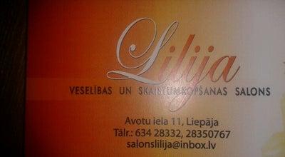 """Photo of Spa Salons """"Lilija"""" at Avotu Iela 11, Liepāja, Lv-3401, Liepāja 3401, Latvia"""