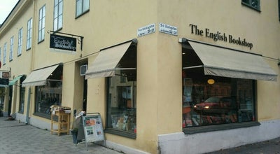 Photo of Bookstore The Uppsala English Bookshop at Svartbäcksgatan 19, Uppsala 753 32, Sweden