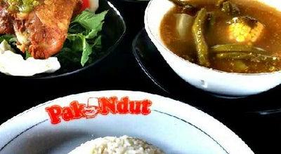 "Photo of Asian Restaurant Bebek & Ayam Goreng Sari Rasa ""Pak Ndut"" at Jl. Awahab Sjahranie No. 224, Samarinda, Indonesia"