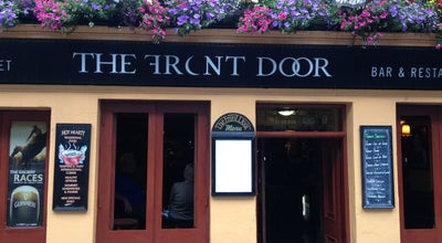 Photo of Irish Pub The Front Door Sonny's Bar and Restaurant at High Street, Galway, Ireland