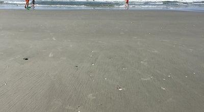 Photo of Beach North Cherry Grove Beach at N Ocean Blvd, North Myrtle Beach, SC, United States