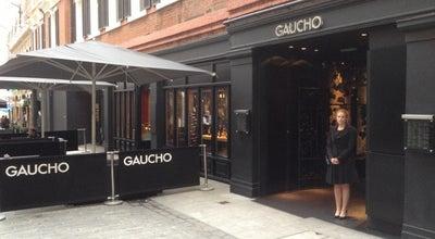 Photo of Argentinian Restaurant Gaucho at 89 Sloane Ave, London SW3 3DX, United Kingdom