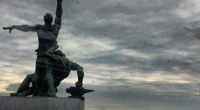 Photo of Monument / Landmark Памятник «Преемственность поколений» at Пл. Стачки 1902 Года, Ростов-на-Дону, Russia