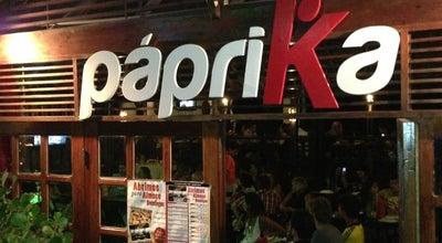 Photo of Pizza Place Páprika at R. Pedro Fonseca Filho, 9001, Natal 59090-080, Brazil