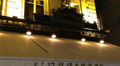 Photo of French Restaurant L'Escargot Montorgueil at 38 Rue Montorgueil, Paris 75001, France